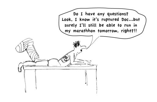 injured athlete blog