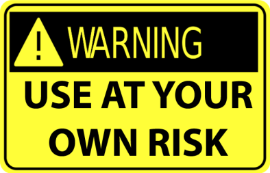 warning sign blog