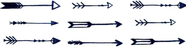 Assorted Arrows